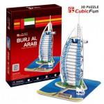 Cubic-Fun-C065H-2 Puzzle 3D - Burjal-Arab (Difficulté : 4/8)
