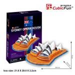 Cubic-Fun-C067H Puzzle 3D - Opéra de Sydney (Difficulté : 4/8)