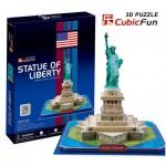 Cubic-Fun-C080H Puzzle 3D - New-York : Statue de la Liberté
