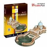 Cubic-Fun-C718H Puzzle 3D - Basilique Saint-Pierre de Rome (Difficulté : 4/8)