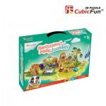 Cubic-Fun-K1002H Puzzle 3D - Pac d'attractions - Difficulté : 3/8