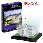 Cubic-Fun-L504H Puzzle 3D avec LED - Washington : La Maison Blanche