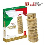 Cubic-Fun-MC053H Puzzle 3D - Tour de Pise (Difficulté : 5/8)