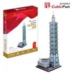 Cubic-Fun-MC085H Puzzle 3D - Taipei