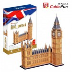 Cubic-Fun-MC087H Puzzle 3D - Londres : Big Ben (Difficulté : 7/8)