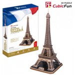 Cubic-Fun-MC091H Puzzle 3D - France, Paris : Tour Eiffel