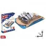 Cubic-Fun-MC217h Puzzle 3D - Opéra de Sydney (Difficulté: 4/6)