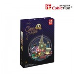 Cubic-Fun-OC3214L Puzzle 3D avec LED - Cityscape Collection - Paris (Difficulté: 4/6)