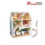 Cubic-Fun-P645H Puzzle 3D - Maison de Poupées de rêve - Difficulté : 4/8