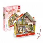 Cubic-Fun-P666H Puzzle 3D avec LED - La Maison d'Alice (Difficulté : 4/7)