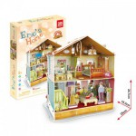 Cubic-Fun-P667H Puzzle 3D avec LED - La Maison d'Eric (Difficulté : 4/7)