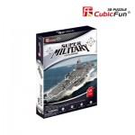 Cubic-Fun-P677h Puzzle 3D - USS Enterprise (Difficulté: 4/8)
