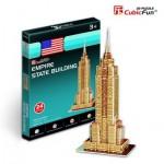 Cubic-Fun-S3003H Puzzle 3D Série Mini - New-York : Empire State Building (Difficulté : 2/8)
