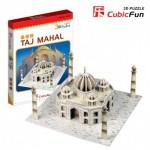 Cubic-Fun-S3009H Puzzle 3D Série Mini - Inde : Taj Mahal (Difficulté 2/8)
