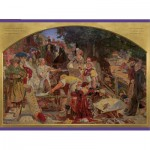 Puzzle  Pomegranate-AA657 Ford Madox Brown : Le travail