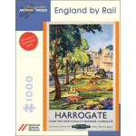 Puzzle  Pomegranate-AA689 Harrogate : England By Rail