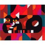 Puzzle  Pomegranate-AA764 Edie Harper : Crazy Cat, Crazy Quilt