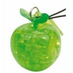 HCM-Kinzel-109303-1 Puzzle 3D en Plexiglas - Mini pomme verte