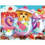 Puzzle  Master-Pieces-11304 L'heure du thé