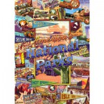 Puzzle  Master-Pieces-71132 Parcs nationales de l'Amérique