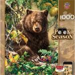 Puzzle  Master-Pieces-71356 Peek Season - Berry Bear