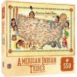 Puzzle  Master-Pieces-71453 Tribal Spirit - American Indian Tribes
