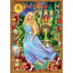 Puzzle  Master-Pieces-71554 Book Box - Cendrillon