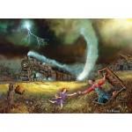 Puzzle  Master-Pieces-71654 Railways - Tornado Alley