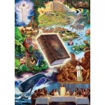 Puzzle  Master-Pieces-71658 Book Box - The Holy Bible