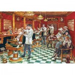 Puzzle  Master-Pieces-71667 Barber Shop