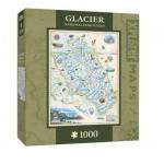 Puzzle  Master-Pieces-71704 Xplorer Maps - Glacier