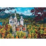 Puzzle  Cobble-Hill-50707 Allemagne : Le Château de Neuschwanstein