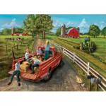 Puzzle  Cobble-Hill-51657 La Ferme de McGavin