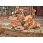 Puzzle  Cobble-Hill-51673 Jim Lamb : Leurres pour Toutous
