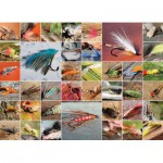 Puzzle  Cobble-Hill-51686 Mouches de Pêche
