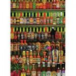 Puzzle  Cobble-Hill-51723 Sauces très épicées