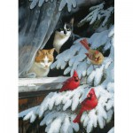 Puzzle  Cobble-Hill-51749 Persis Clayton Weirs : Les Ornithologues