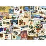 Puzzle  Cobble-Hill-51765 Cartes de Voeux Victoriennes