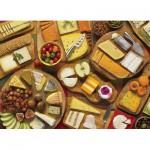 Puzzle  Cobble-Hill-51785 Plus de Fromages S'il Vous Plait