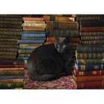 Puzzle  Cobble-Hill-51830 Library Cat