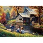 Puzzle  Cobble-Hill-51835 Mark Keathley: Fishy Story