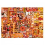 Puzzle  Cobble-Hill-51862 Shelley Davies: Orange