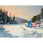 Puzzle  Cobble-Hill-52039 Pièces XXL - Douglas Laird : Adirondack Winter