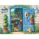 Puzzle  Cobble-Hill-52049 Pièces XXL - Janet Kruskamp : Bienvenue dans mon Jardin