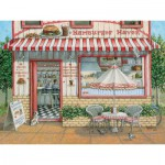 Puzzle  Cobble-Hill-52050 Pièces XXL - Janet Kruskamp : Le Havre du Hamburger