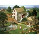 Puzzle  Cobble-Hill-52066 Pièces XXL - Charlotte Joan Sternberg : Moulin Quatre étoiles
