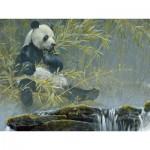 Puzzle  Cobble-Hill-52085 Pièces XXL - Panda Géant