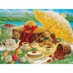Puzzle  Cobble-Hill-52089 Pièces XXL - Janet Kruskamp - Teddy Bear Picnic