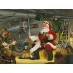 Puzzle  Cobble-Hill-52105 Pièces XXL - Tom Newsom - Santa's Checklist