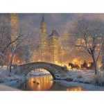 Puzzle  Cobble-Hill-52114 Pièces XXL - Mark Keathley: Winter in the Park